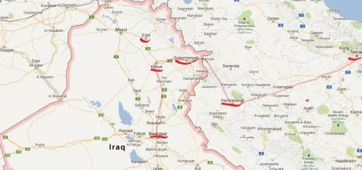 escape route from Iraq